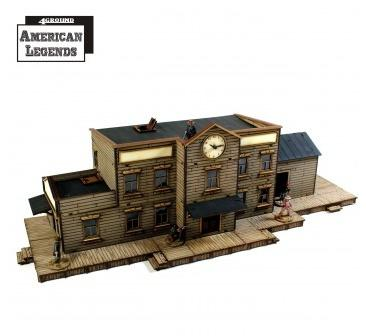 28mm Dead Mans Hand: Station
