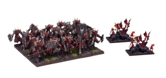 Kings Of War: (Forces Of The Abyss) Lower Abyssals Regiment