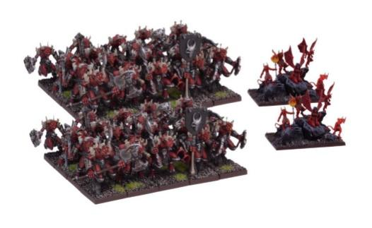 Kings Of War: (Forces Of The Abyss) Lower Abyssals Horde