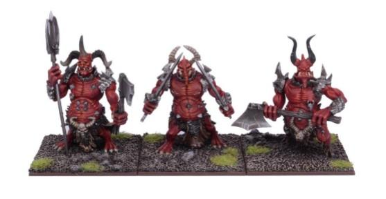 Kings Of War, 2nd Edition: (Forces Of The Abyss) Molochs