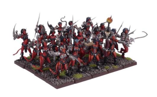 Kings Of War: (Forces Of The Abyss) Succubi Regiment
