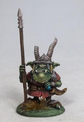 DiTerlizzi Masterworks: Sluggort, Goblin Warrior w/Spear