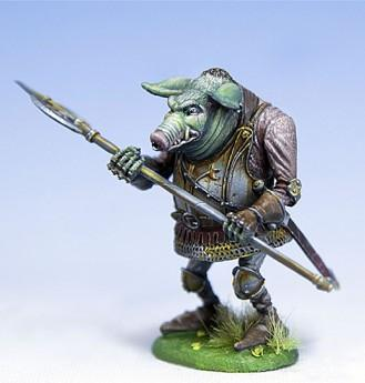 DiTerlizzi Masterworks: Orc Of The Otus Clan w/Halberd