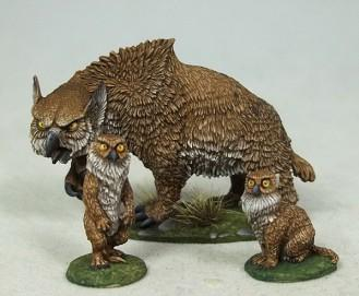 DiTerlizzi Masterworks: Owlbear & Cubs