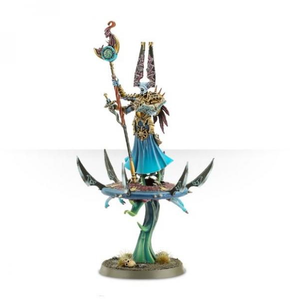 Age of Sigmar: Gaunt Summoner on Disc of Tzeentch