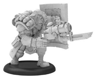 Warmachine: (Cygnar) Trench Buster (resin/metal)