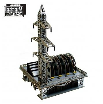 15mm Jesserai (Sci-Fi): District XXII Transformer