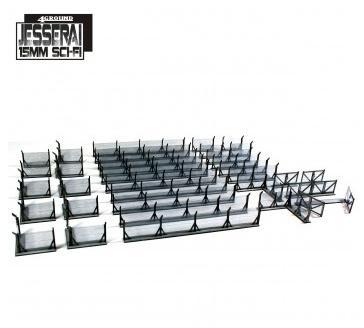 15mm Jesserai (Sci-Fi): Fencing (2m)