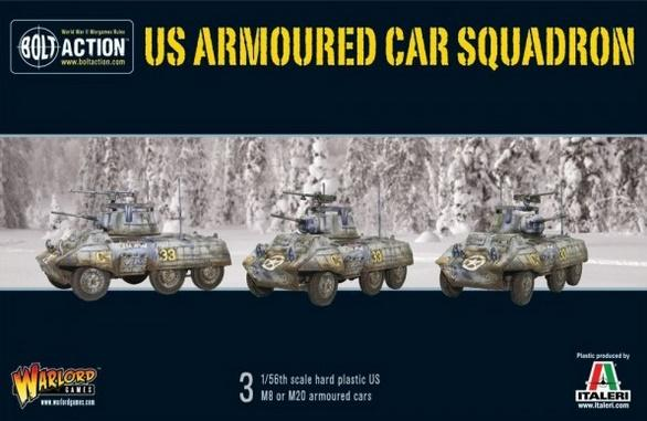 (USA) US Armoured Car Squadron (M8/M20 Greyhound Scout Cars)