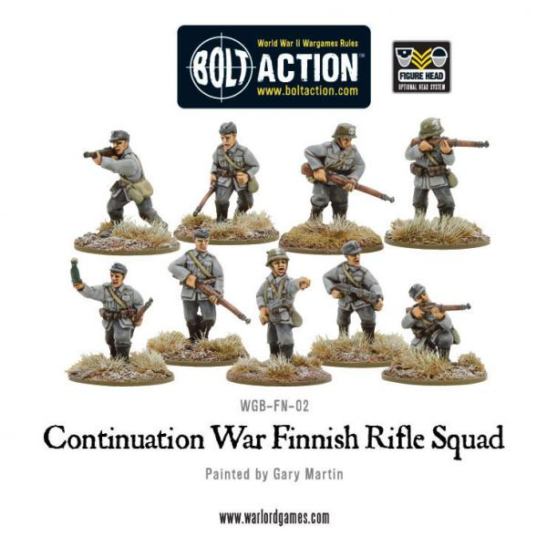 (Finnish) Infantry Boxed Set (9)