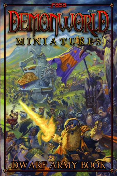 Demonworld Miniatures: Dwarf Army Book