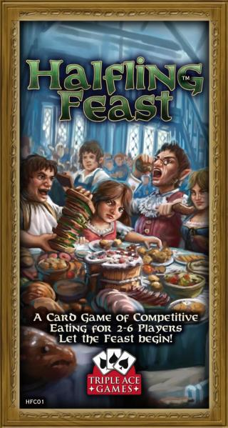 Halfling Feast: A Card Game Of Competative Eating