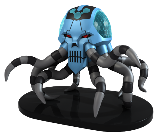 DC Heroclix: Brainiac Skull Ship [LIMITED]
