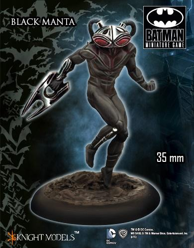 Batman Miniature Game: Black Manta