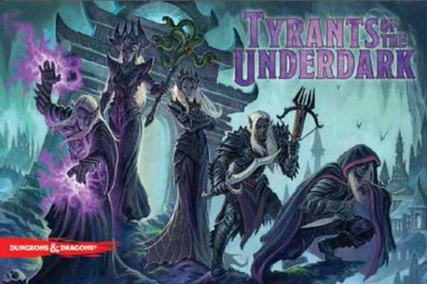 Dungeons & Dragons: Tyrants Of The Underdark (Boardgame)