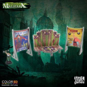 Malifaux: (Terrain) Circus Stage (Color ED)