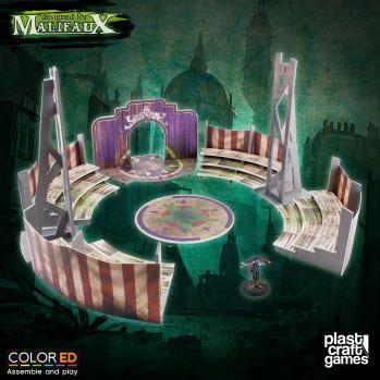 Malifaux: (Terrain) Big Top Stage (Color ED)