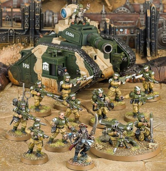 Warhammer 40K: Start Collecting! Astra Militarum