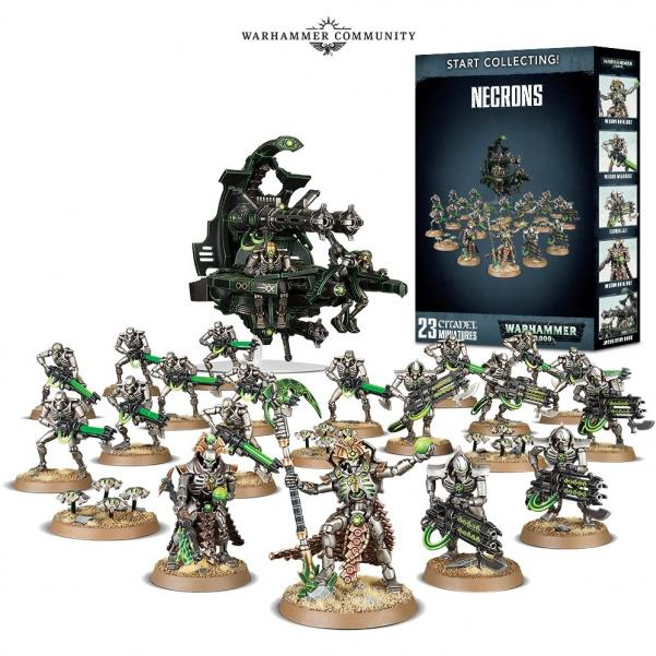 WH40K: Start Collecting! Necrons