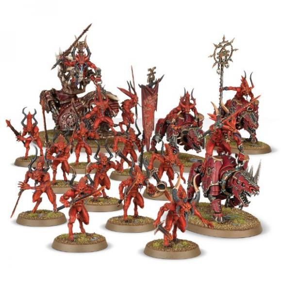 Age of Sigmar: Start Collecting! Daemons of Khorne