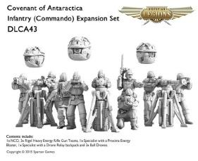 (Covenant Of Antarctica) Commando Infantry Expansion Set