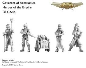 (Covenant Of Antarctica) Heroes Of The Empire Set