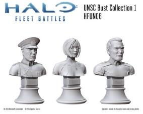 HALO Fleet Battles: (UNSC) Commanders & Heroes Collection 1