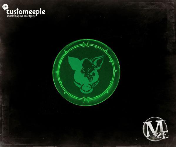 Gremlins Blast Marker (Fluorescent Green)