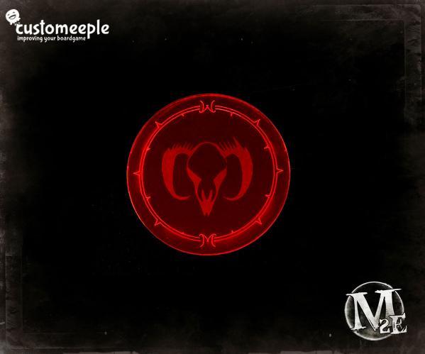 Guild Blast Marker (Fluorescent Magenta/Red)