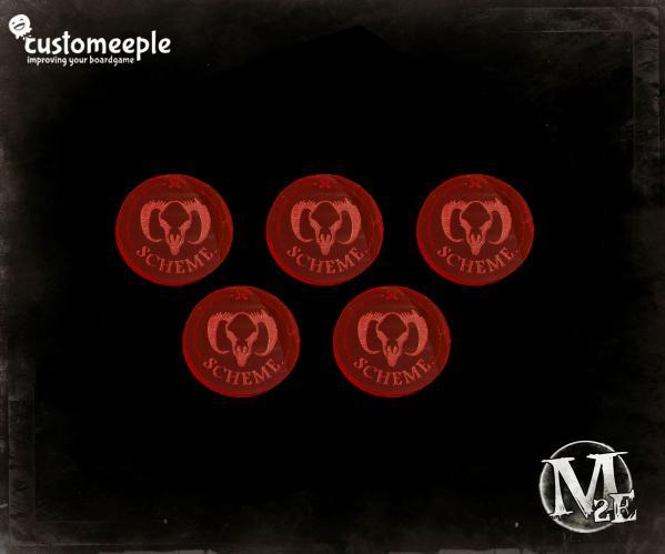 Guild Scheme Marker (Fluorescent Magenta/Red)