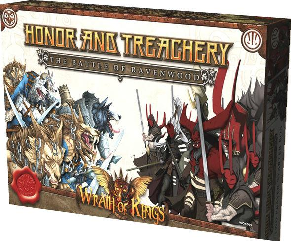 Wrath Of Kings: Honor & Treachery (The Battle Of Ravenwood Two-Player Box)