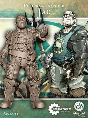 GuildBall: (Fisherman's Guild) Jac