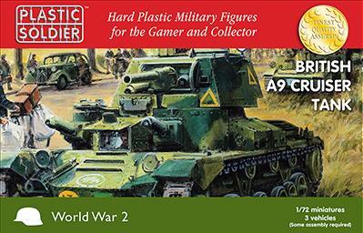 20mm WWII: (British) A9 Cruiser Tank
