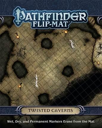 Pathfinder RPG: (Flip-Mat) Twisted Caverns