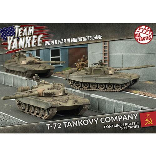 Flames Of War (Team Yankee): (Soviet) T-72 Tankovy Company (Plastic)