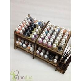 Bandua Accessories: Double-Size Paint Display
