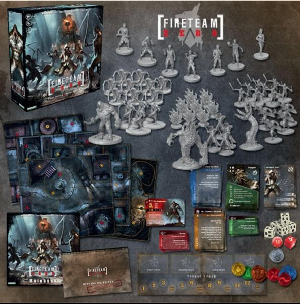 Fireteam Zero Core Set (Adventure Board Game)