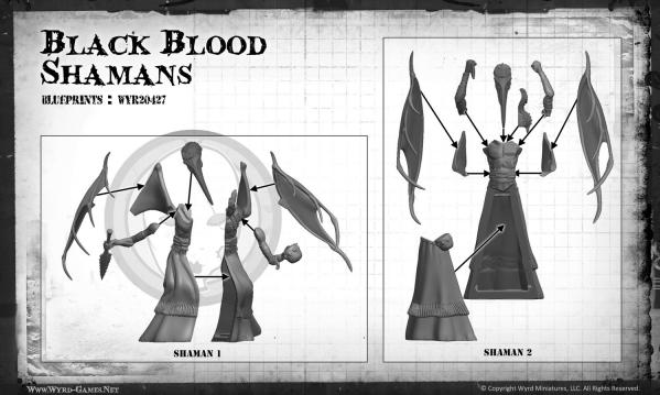 (The Neverborn) Black Blood Shamans