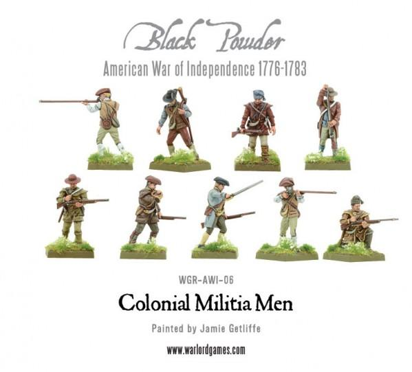 (American War Of Independence) Colonial Militia Men