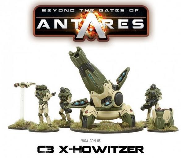 Beyond The Gates Of Antares: (Concord) Concord X-Howitzer