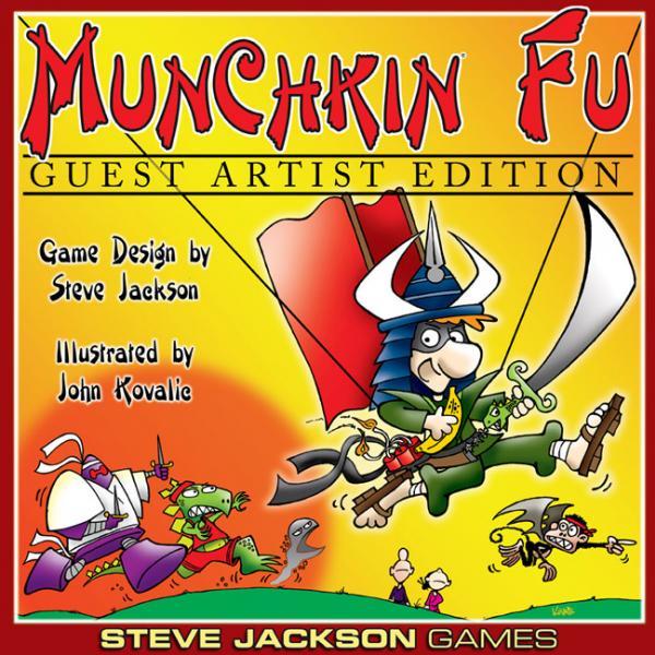 Munchkin Fu: John Kovalic Guest Artist Edition