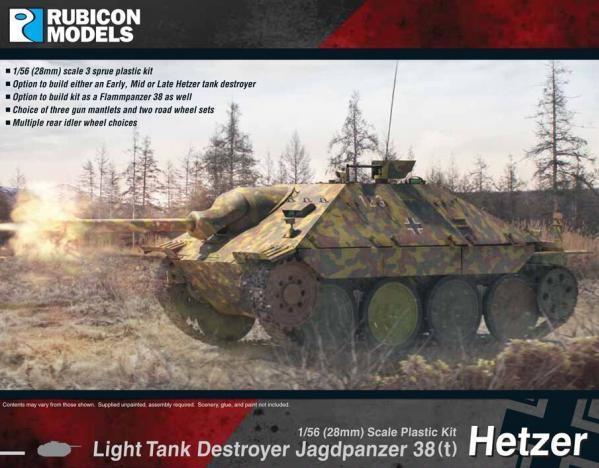 28mm WWII: (German) Jagdpanzer 38(t) Hetzer