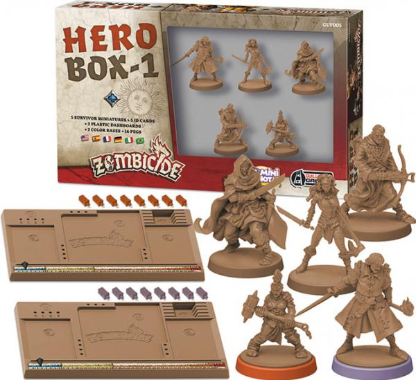 Zombicide: Hero Box 1