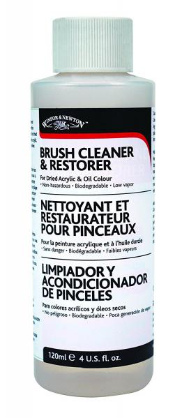 Brush Cleaner & Restorer (4oz.)