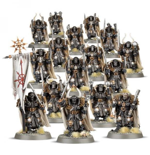 Age of Sigmar: Chaos Warriors Regiment