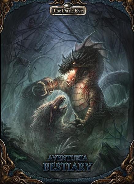 The Dark Eye RPG: Aventuria Bestiary (HC)