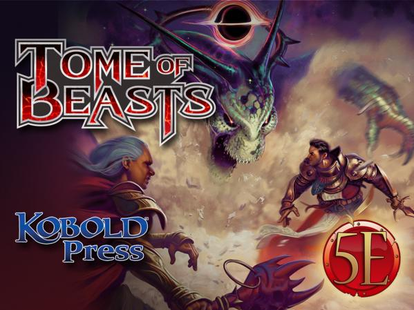 Dungeons & Dragons RPG: Tome Of Beasts