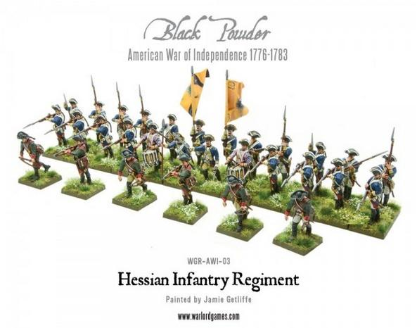 (American War Of Independence) Hessian Regiment (Plastic)