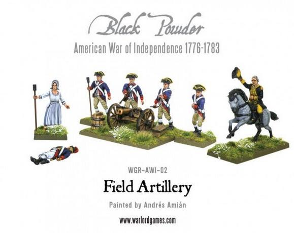 (American War Of Independence) Field Artillery & Army Commanders (Plastic)