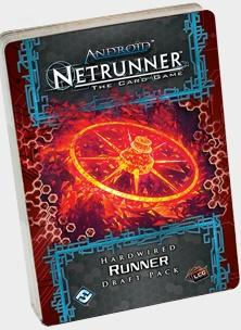 Android Netrunner LCG: Hardwired Runner Draft Pack